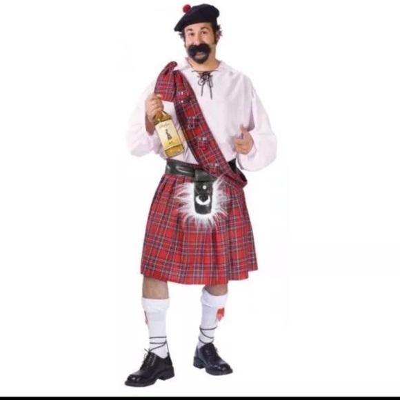 big shot scottish guy men halloween costume